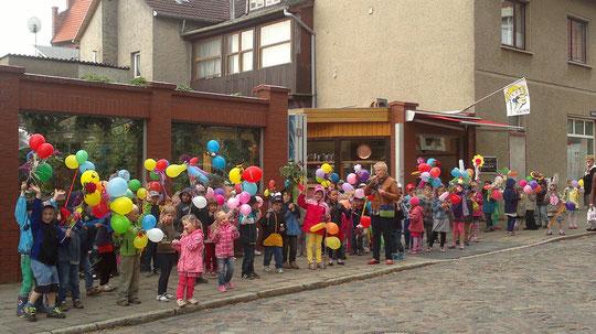So sieht ein Kindertag aus. Das gibt es nur bei uns in Teterow!