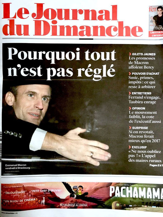 Emmanuel Macron à Strasbourg 21/12/2018