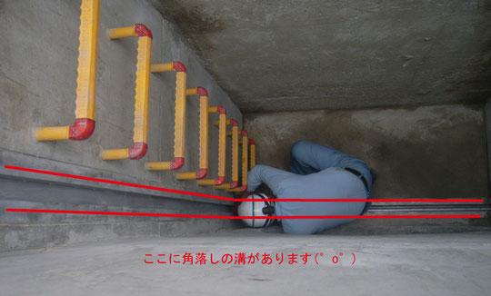 左肩がHP管の中に入っているの分かりますか?