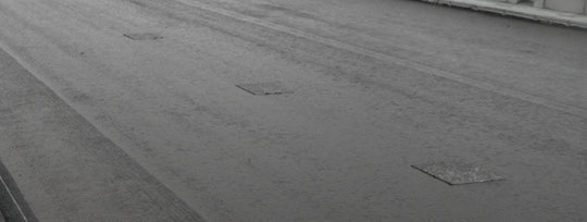 ~道路を造ろう~【森戸新田工区の場合】乳剤散布試験1