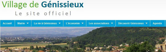 SITE OFFICIEL MAIRIE GENISSIEUX