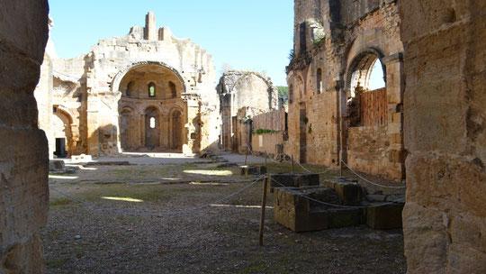 L'Abbaye d'Alet les Bains