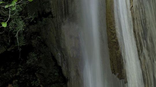 Portrait de Yeshua, apparaissant dans une cascade. Photo prise par Sand & Jenaël le 16.06.2013