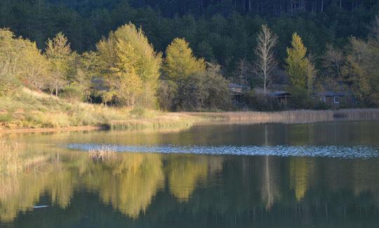 Le lac d'Arques