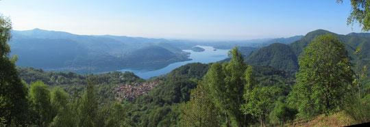 Quarna sopra e il lago d'Orta