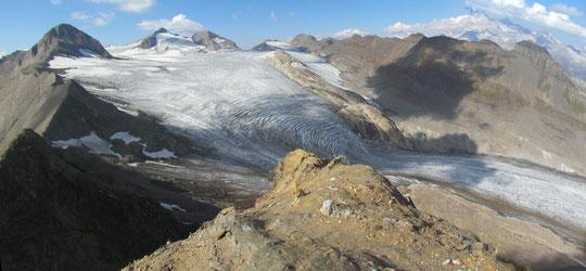 Il ghiacciaio del Gries