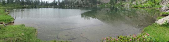 Il lago di Ragozza m. 1958