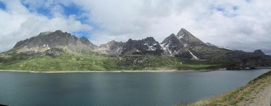 Il lago del Toggia