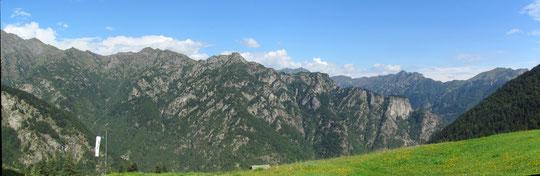 Dall'Alpe Scamdalorso m. 1450