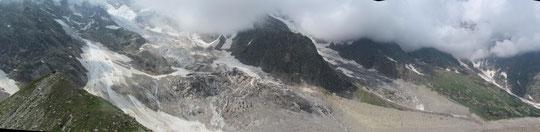 Il ghiacciaio del Belvedere