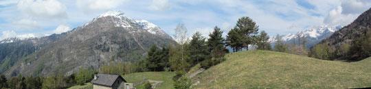 Panoramica dall'Alpe Gorta