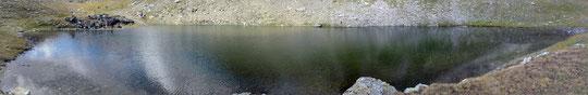 Pausa pranzo presso uno dei laghi di Sirwolte