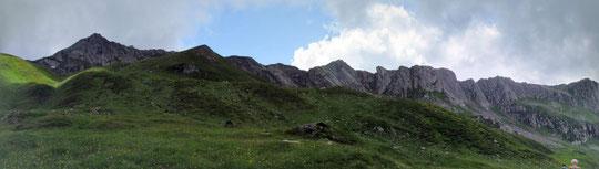 Panoramica dagli alpeggi di Pontimia