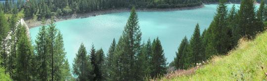 Il lago di Cheggio