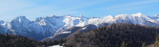 Veduta dall'Alpe Pragrande