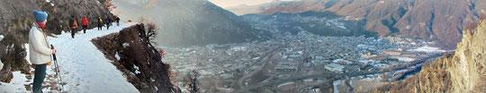 Panoramica su Gravellona