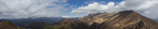 Veduta dal Monte Faierone