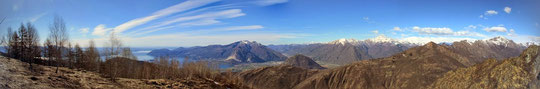 Panoramica dal Monmte Todum