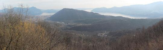 Lago Maggiore, monte Rosso e Cossogno
