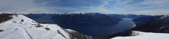 Panoramica sul Lago Maggiore
