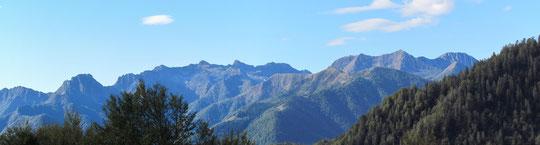 Panoramica dall'Alpe Rovina