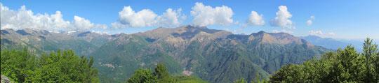 Panoramica dal Mazzuccone