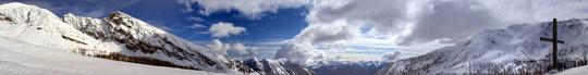 Panorama dall'Alpe di Monscera