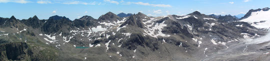 Panorama dal rifugio 3A