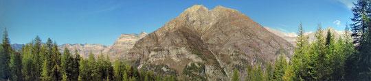 Panoramica dall'alpe Larcero m. 1770