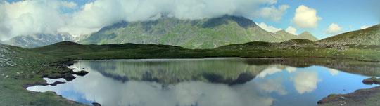 Uno dei laghi di Pontimia