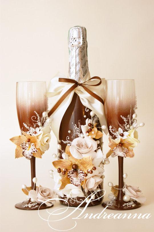 Шампанское  «Горячий шоколад» стоимость 700грн.
