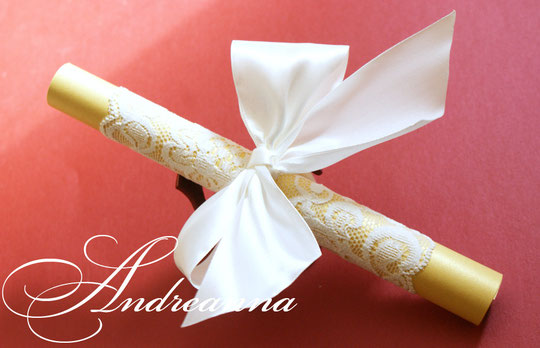 золотой свиток, и нежное кружево цвета шампань 35 грн