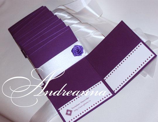 """упаковка на 2 диска """"Violette"""" стоимость 35грн. (индивидуальная разработка для фотографов, с логотипом)."""