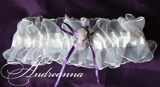 Подвязка Невесомая камея, стоимость 150 грн