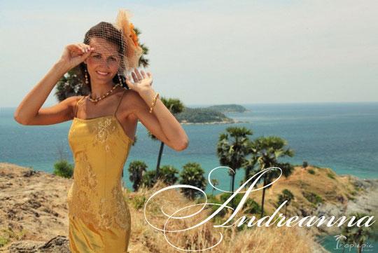 Набор украшений и цветок «Золото Флоренции»