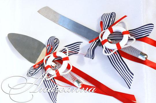 Украшения для лопатки и ножа «Круиз» стоимость 200грн