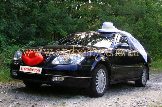"""украшение для авто """"Жених и невеста"""" стоимость набора 1000грн (в любом цвете)"""