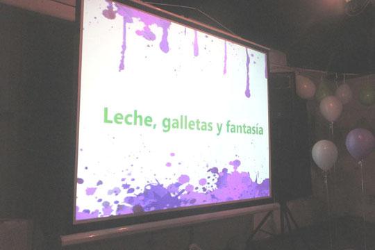 """Presentación Libro, """"Leche, galletas y fantasía"""""""
