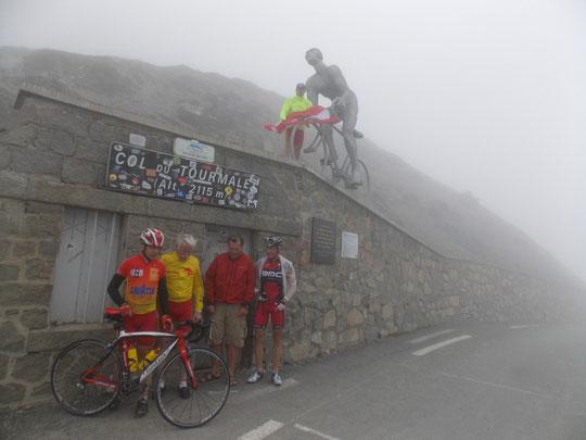 Tourmalet im Nebel