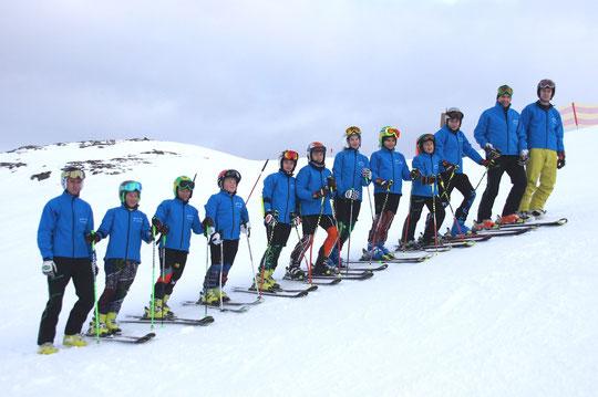 Unser Skiteam 2013/14