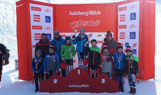 3. Platz für Collin Seiwald beim SalzburgMilch KidsCup