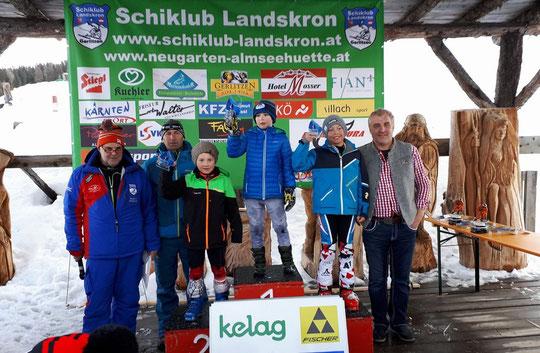2. Rang für Collin Seiwald bei Kinder-RSL auf der Gerlitzen