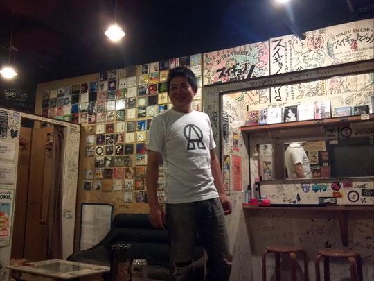 10/7ついに全貌を現したザ★プレスターズのアルファオメガTシャツ。
