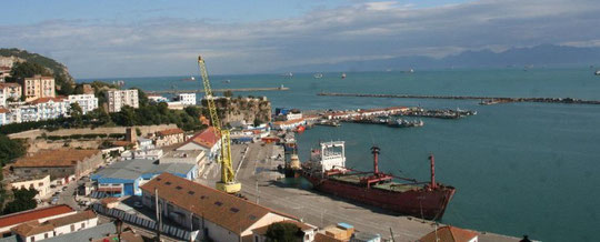 le port de BEJAIA