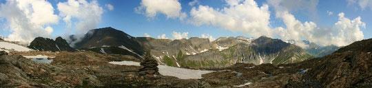 panorama du Col de la Terrasse