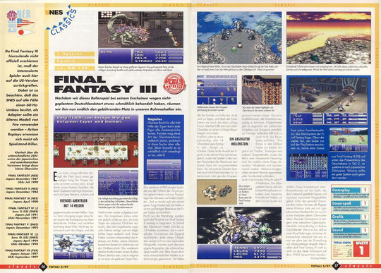 Final Fantasy III Total 5\97