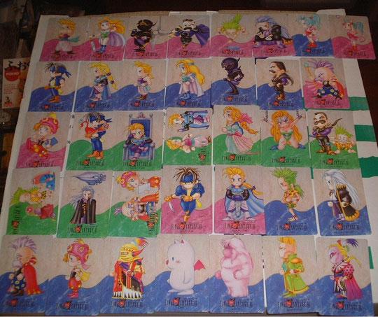 Final Fantasy VI Sammelkarten