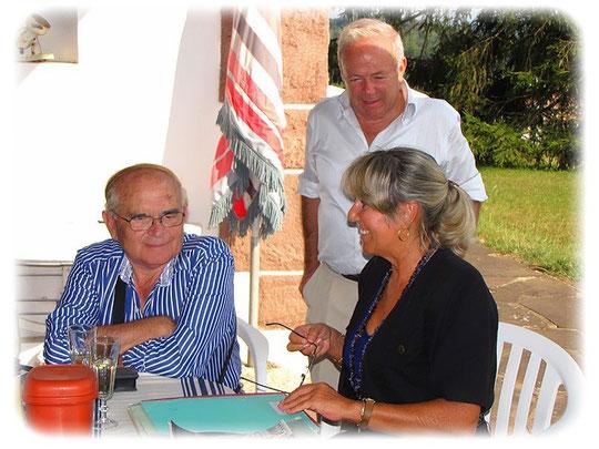 Armando, José y Daniela, casa de campo « Mariano-Ko-Etchea » Arcangues    Septiembre 2009