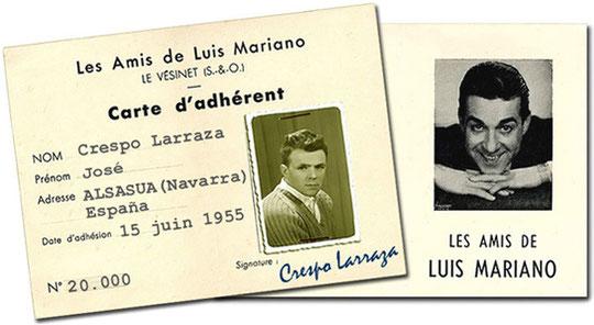 Club de amigos de Luis Mariano