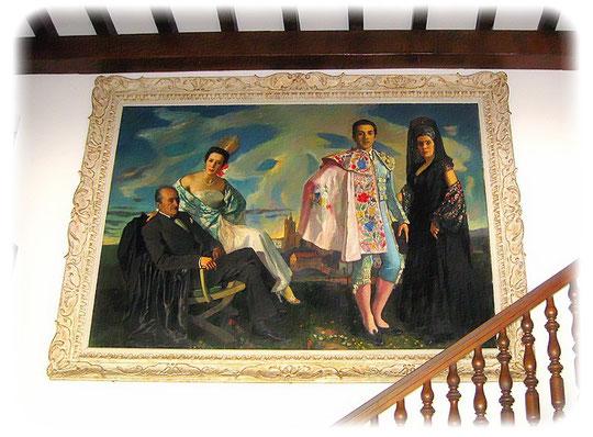 González Pintura Familia, casa de campo « Mariano-Ko-Etchea »